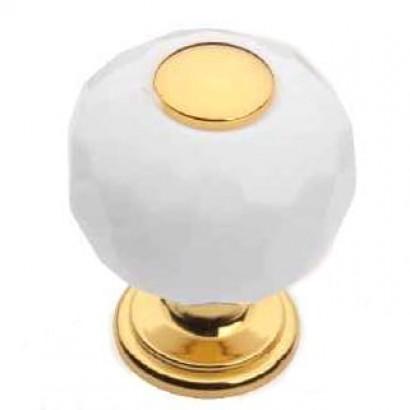 Мебельная ручка 0737-1 WHITE