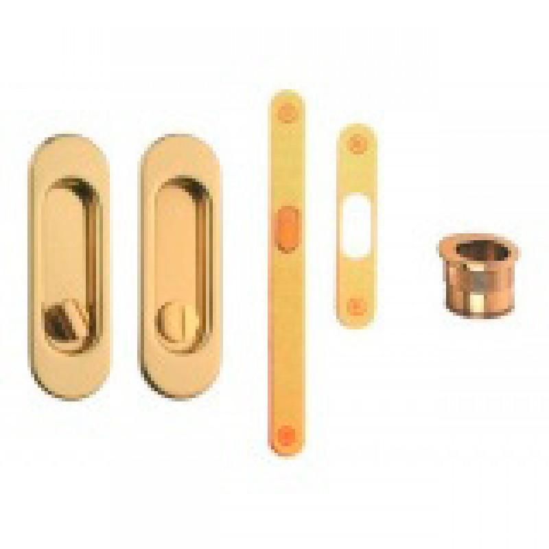 Ручка для раздвижных дверей Ручка (WC + замок)
