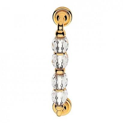 Дверные ручки-скобы Linea Cali Crystal 236 mm