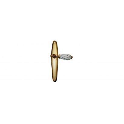 Дверная ручка NISA м/к на планке