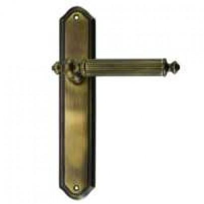 Дверная ручка ANTIK м/к на планке