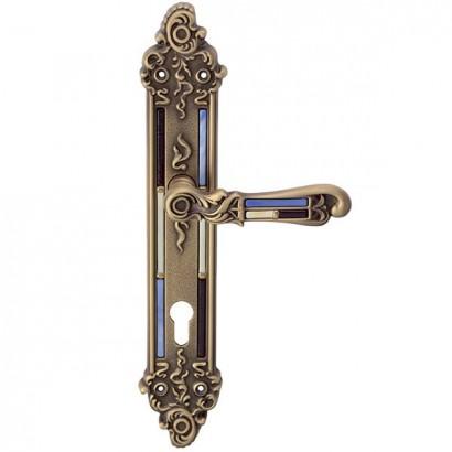 Дверная ручка TIFFANY CYL на планке