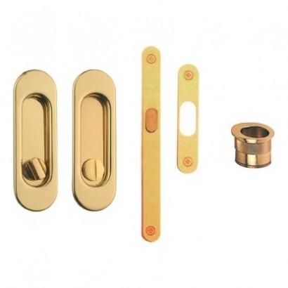 Ручка для раздвижных дверей Ручка (WC+замок) 7.5200
