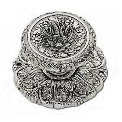 Ручка-кноб серебро